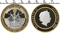Изображение Монеты Австралия 10 долларов 2000 Серебро Proof Елизавета II. Миллен