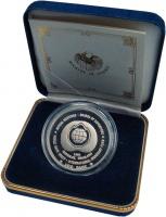 Изображение Подарочные монеты Таиланд 100 бат 1991 Медно-никель Proof