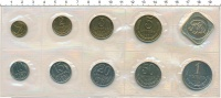 Изображение Подарочные монеты СССР Набор 1991 года 1991  UNC Мягкий набор ММД от