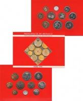 Изображение Подарочные монеты Монако Принц Монако Ренье 1995  UNC