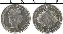 Изображение Монеты Венгрия 20 крейцеров 1844 Серебро XF+ В  Фердинанд I