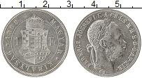 Изображение Монеты Венгрия 1 форинт 1883 Серебро XF Франц Иосиф I