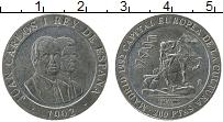 Изображение Монеты Испания 200 песет 1992 Медно-никель UNC-