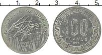 Изображение Монеты Габон 100 франков 1978 Медно-никель XF