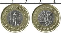 Изображение Монеты Камерун 750 франков 2005 Биметалл UNC Пигмей