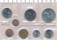 Изображение Наборы монет ЮАР ЮАР 1975 1975  UNC- В наборе 8 монет ном