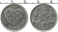 Продать Монеты Латвия 1 лат 2011 Медно-никель