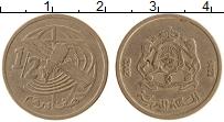 Изображение Монеты Марокко 1/2 дирхама 2002 Медно-никель XF