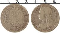 Изображение Монеты Великобритания 1/2 кроны 1901 Серебро VF