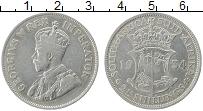 Изображение Монеты ЮАР 2 1/2 шиллинга 1934 Серебро XF-
