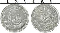 Изображение Монеты Португалия 1000 эскудо 1980 Серебро XF 400 лет со дня смерт