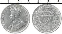Изображение Монеты Индия 1 рупия 1914 Серебро XF Георг V