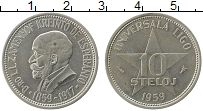 Изображение Монеты Европа Эсперанто 10 стелой 1959 Медно-никель XF