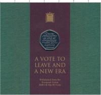 Изображение Подарочные монеты Великобритания 50 пенсов 2020 Медно-никель UNC Brexit . Выход из ЕС