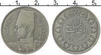 Изображение Монеты Египет 5 пиастров 1937 Серебро XF Фарук I