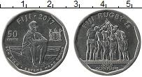 Изображение Монеты Фиджи 50 центов 2017 Медно-никель UNC