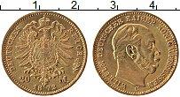 Изображение Монеты Пруссия 20 марок 1872 Золото UNC- Вильгельм I (КМ# 501