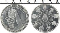 Продать Монеты Аргентина 25 долларов 2007 Серебро