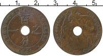 Изображение Монеты Индокитай 1 сантим 1911 Бронза VF