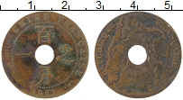 Изображение Монеты Индокитай 1 сантим 1923 Бронза VF