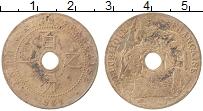 Изображение Монеты Индокитай 1 сантим 1921 Бронза VF