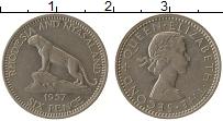 Продать Монеты Родезия 6 пенсов 1957 Медно-никель