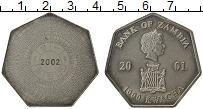 Продать Монеты Замбия 1000 квач 2001 Медно-никель