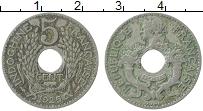 Изображение Монеты Индокитай 5 сантим 1925 Медно-никель XF