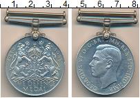 Изображение Значки, ордена, медали Великобритания Медаль 0 Медно-никель UNC- Георг VI. Вторая Мир