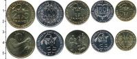 Изображение Наборы монет Западная Африка Медаль 2002 Медно-никель UNC В наборе 5 монет ном