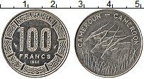 Изображение Монеты Камерун 100 франков 1980 Медно-никель UNC-
