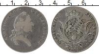 Изображение Монеты Бавария 1/2 талера 1779 Серебро XF-