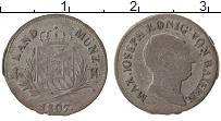 Изображение Монеты Бавария 1 крейцер 1807 Серебро VF+