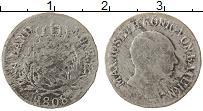 Изображение Монеты Бавария 3 крейцера 1808 Серебро VF+