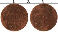 Продать Монеты Саксен-Альтенбург 1 пфенниг 1753 Медь