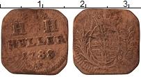 Изображение Монеты Саксен-Хильдбургхаузен 1 геллер 1788 Медь VF+