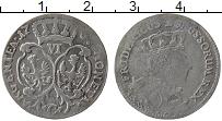 Изображение Монеты Пруссия 6 грошей 1757 Серебро XF