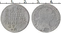 Изображение Монеты Пруссия 1/12 талера 1765 Серебро XF- А