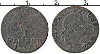 Изображение Монеты Германия Восточная Фризия 1 стюбер 1772 Серебро VF