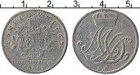 Продать Монеты Саксен-Веймар-Эйзенах 1/6 талера 1763 Серебро