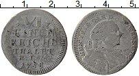 Изображение Монеты Германия Саксен-Хильдбургхаузен 1/6 талера 1758 Серебро VF