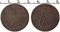 Изображение Монеты Шлезвиг-Гольштейн 1 сешлинг 1787 Медь VF MF