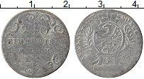 Продать Монеты Бранденбург-Байрот 5 крейцеров 1766 Серебро