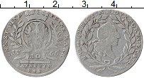Продать Монеты Бранденбург-Байрот 10 крейцеров 1766 Серебро