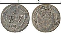 Изображение Монеты Бранденбург-Ансбах 1 крейцер 1786 Серебро VF
