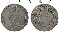 Изображение Монеты Бранденбург-Ансбах 20 крейцеров 1763 Серебро XF-