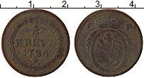 Изображение Монеты Пфальц-Сульбах 1/4 крейцера 1786 Медь VF