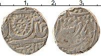 Изображение Монеты Индия Индор 1 рупия 0 Серебро XF