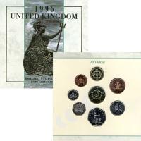 Изображение Подарочные монеты Великобритания Выпуск монет 1996 1996  UNC