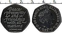 Изображение Монеты Великобритания 50 пенсов 2020 Медно-никель UNC